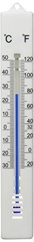 Termometro Pared/Jardin, Interior/Exterior Plástico 17 cm.
