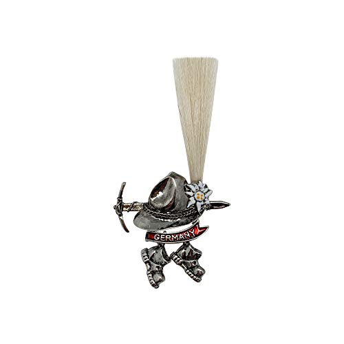Alpine German Hat Small Gamsbart Brush and