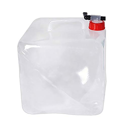 Homyl Caja bidón de Polietileno matteriale para Transporte de líquidos, con tapón...