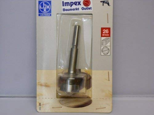 LUX 104206 Forstnerbohrer Durchmesser in mm 26 mm Gesamtlänge in mm 90 mm PROFI