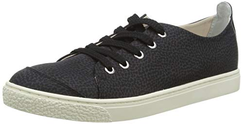 Borbonese Sneakers, Scarpe da Tennis Donna, Nero, 37 EU