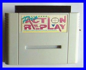 Action Replay 1 (einzeln) Schummelmodul Cheatmodul Cheat Cheats Cheater Mogeln Mogelmodul (für SNES Super Nintendo)