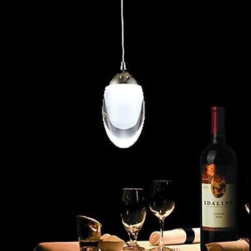 GXS  Lustre Lampe suspendue - Contemporain Rustique Traditionnel Classique - avec Style mini LED - Verre , Cold blanc-110-120V