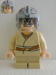 LEGO Star Wars: Anakin Skywalker (Short Piernas Podracer Equipo) Minifigura