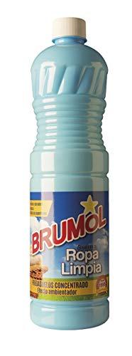 Brumol Fregasuelos Concentrado Ropa Limpia - Paquete de 15 x 1000 ml - Total: 15000 ml