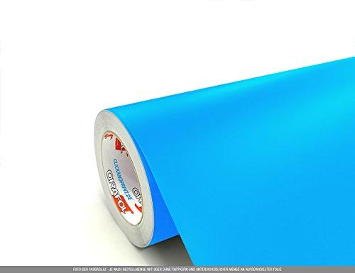 CLICKANDPRINT 5m Klebefolie, 100cm breit, Hellblau EC » PVC-Folie/Vinyl-Folie/Kunststoffolie