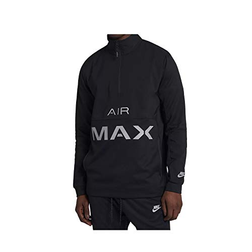 Nike M Nsw Air Max Jkt Pk - black/wolf grey, Größe:L