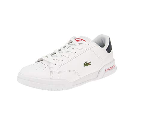Lacoste Twin Serve 0721 1 SFA - Zapatillas bajas para mujer, color Blanco, talla 41 EU