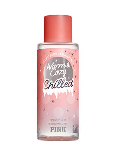 VS Victoria secret pink new! limited edition warm & cozy chilled scented mists 250ml