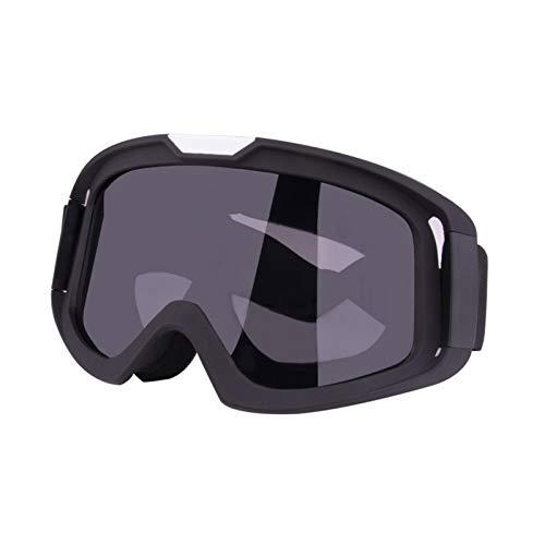 Motocross Ciclismo Moto Carreras Gafas de Goggle,Gafas de Moto con máscara Desmontable,Ajustable...