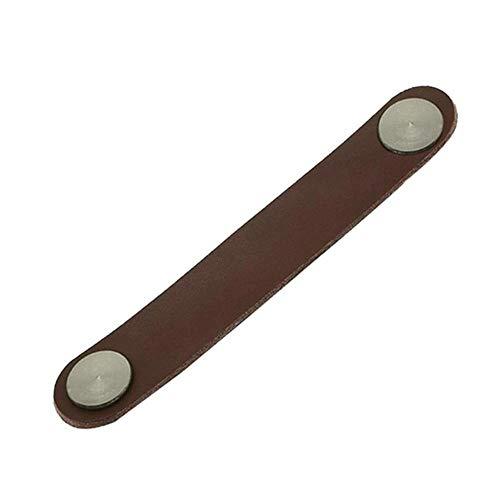 Coner Ladekast Lederen Handvat Koffer Handgreep Minimalistische Kledingkast Handgreep, A1 17X3X2CM