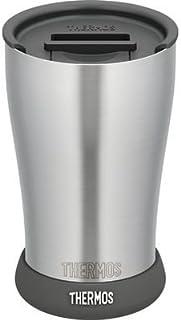 サーモス サーモス 真空断熱タンブラー JDE-420 フタ・ソコカバーセット ブラック 420ml E452671H