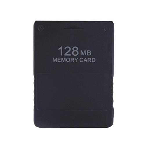 Baverta New 2021 Scheda di memoria PS2 - Scheda di memoria per Sony 8M-256M Scheda di memoria Alta velocità per Sony 2 Accessori per giochi PS2(128M)