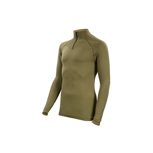 SUMMIT OUTDOOR Tee-Shirt Technical Line Col Mao Coyote