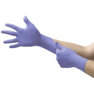 Corona Virus protection products Microflex SU-690 Disposable Nitrile Gloves, Latex-Free, Powder-Free Glove for Cleaning,