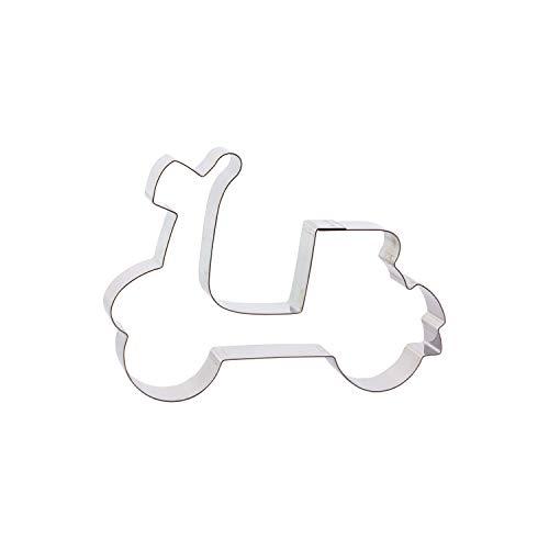 Cuttersweet 1 Keksausstecher Motorroller/Vespa | aus Edelstahl | Roller |