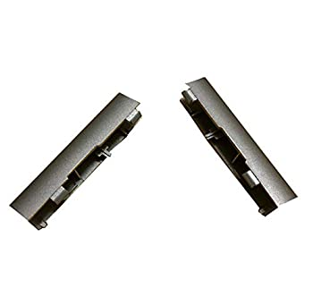 Laptop LCD Hinge Cover for DELL Inspiron 13 7370 7373 P83G Left and Right Silver Non-Touch New