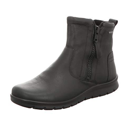 ECCO Damen Babett Boot Kurzschaft Stiefel, Schwarz (BLACK11001), 39 EU