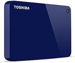 Toshiba Canvio Advance disco rigido esterno 4000 GB Blu