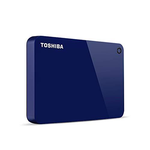 Toshiba Canvio Advance Externe Festplatte 4000 GB Blau - Externe Festplatten (4000 GB, 2.5 Zoll, 3.0 (3.1 Gen 1), Blau)