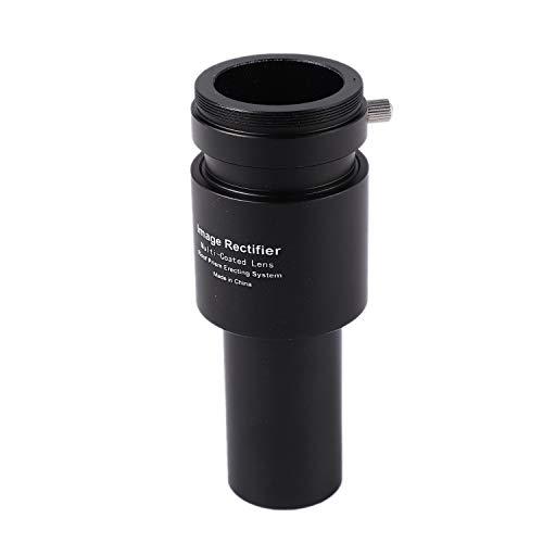 Tmand Raddrizzatore di Immagini da 1,25 Pollici Interno 1.5X Barlow Lens Montaggio del Prisma Adattatore per Fotocamera per Telescopio Riflettore Newtoniano