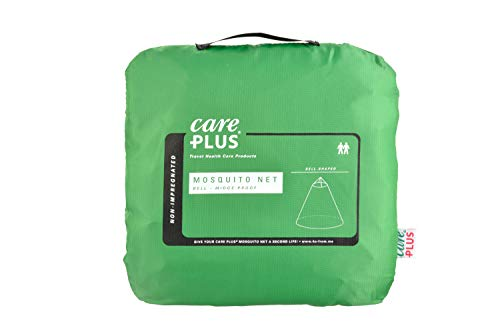 Care Plus - Mosquitera de diseño acampanado para 2personas, sin impregnar