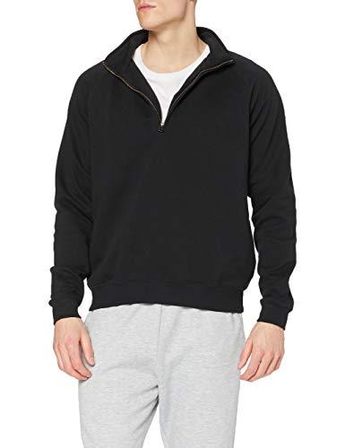 Fruit of the Loom Men's Premium Sweater, Black, X-Larg