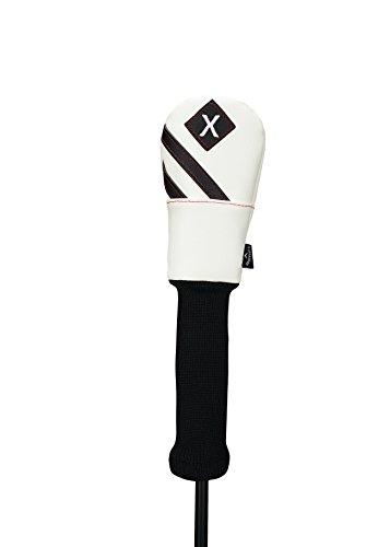 Callaway Golf Vintage Hybrid Headcover Head Cover 2017 Vintage Universal Hybrid White/Black