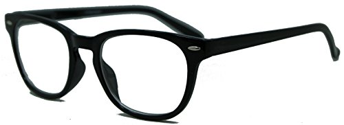 In Style Eyes Relaxed Classic Progressive Bifocal Reading Glasses, Black, 1.25x