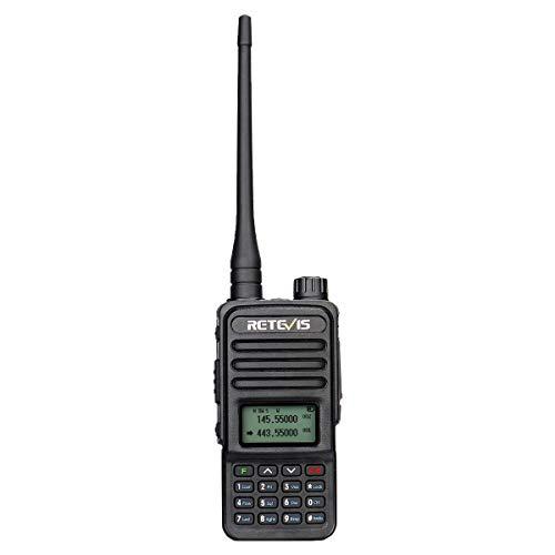 Retevis RT85 Walkie Talkie Dual Band, Long Range Ham Radio, 2m/70cm...