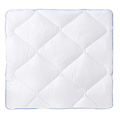 Urra Kindersteppbett Bettdecke Decke Kochfest | 80x80| Ganzjahressteppbett | Waschbar bis 95°C | Allergiker geeignet