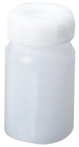 新潟精機 BeHAUS ポリ広口ビン 中栓付 500ml BW-500