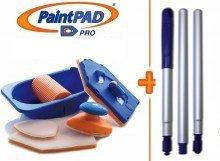 Paint Pad Pro semplice nuovo confezione Set. Unità principale + asta estensibile. Come visto in TV e consigliato da TV DIY Expert Tommy Walsh