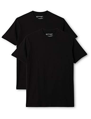 Garage Herren Shirt/ T-Shirt, 2 er Pack 0101, Schwarz (black), 52/54 (L)