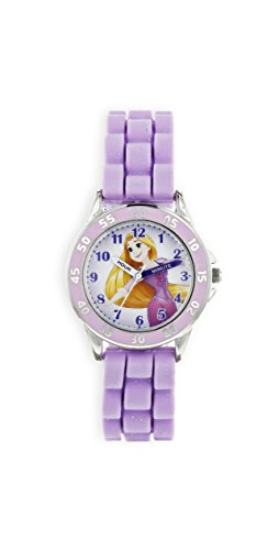 Disney Princess Unisex Child Analogue Classic Quartz Watch with Rubber...