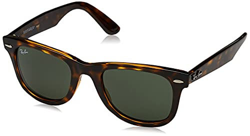 Rayban Unisex - Adulto 0RB4340 710 50 Occhiali da sole, Havana-Green Gradient