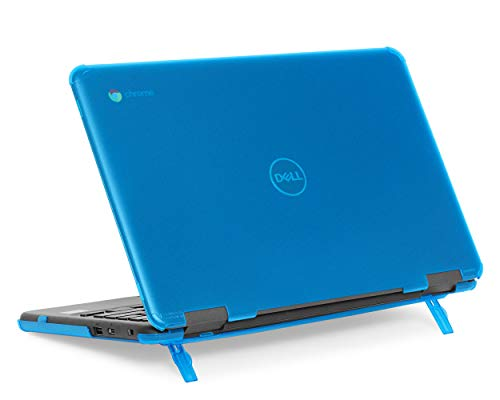 mCover Hard Shell Case for 11.6' Dell Chromebook 11 3100 Education non-2-in-1(180-degree Hinge) Laptop (NOT Compatible with 3181/3100 2in1, 210/3120/3180/3189/5190 Series) - Dell-C3100-non2in1 Aqua