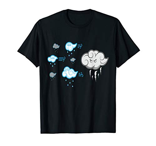 Funny clouds design, gift to draw a smile in someone's face T-Shirt