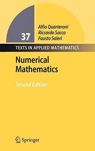 Numerical Mathematics (Texts in Applied Mathematics (37))