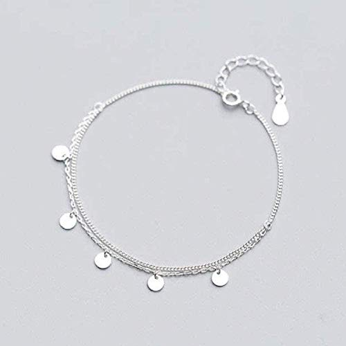 TYWZH Necklace High Jewelry Necklace Multilayer Polished Round Chain Bracelet Women S