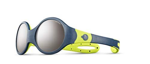 Julbo Loop M Spectron 4 Sonnenbrille Kinder Blue/Green 2021 Fahrradbrille