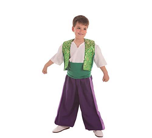 Creaciones Llopis Disfraz de Moro Aladino para niño