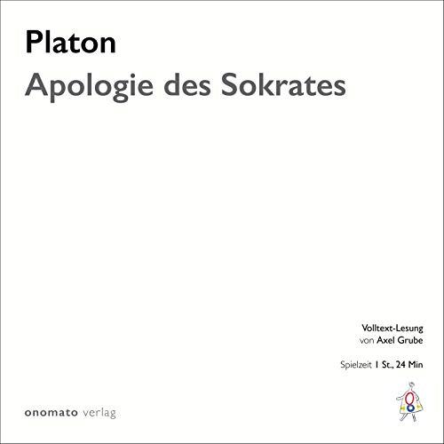 Couverture de Apologie des Sokrates