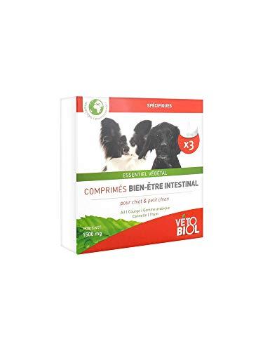 Vétobiol Comprimés Hygiène Intestinale pour Chien et Chiot 3 Comprimés