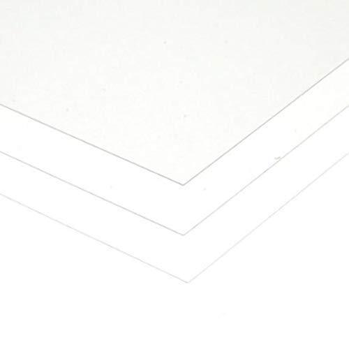 Evergreen- Lámina de poliestireno Transparente, 150 x 300 x 0,13 mm, 3 Unidades (International Hobbycraft Co. Inc 9005)