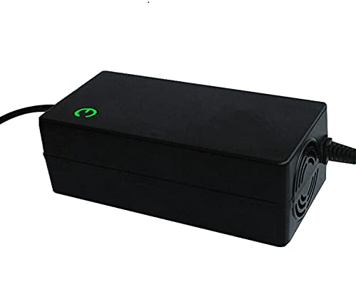 QYK Adaptador de Corriente para Cargador 36 V, batería Bicicleta eléctrica, monopatín Monociclo de Equilibrio automático, Voltaje de Salida 42 V 2A / 3A / 5A Cargador,B,5A