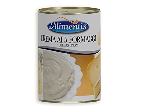 Conserva Italiana Alimentis Crema de v quesos. Pack 12 X 400G.