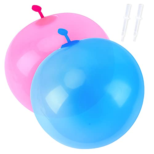 Herefun 2 Stück Bubble Balloon, Bubble Ball Spielzeug, Transparenter Aufblasbarer Ball Wasser, Wasserball Bubble für Pool, Kinder Party, Sommer Strand, Garten Party