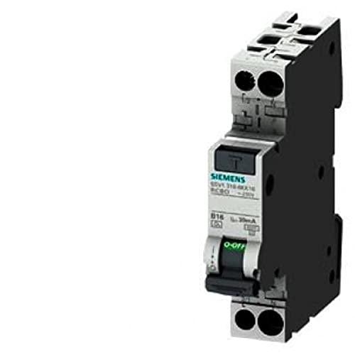 Interruptor MTD 10 A 1 MODUL 1N 6KA 30MA AC 5SV13161KK10