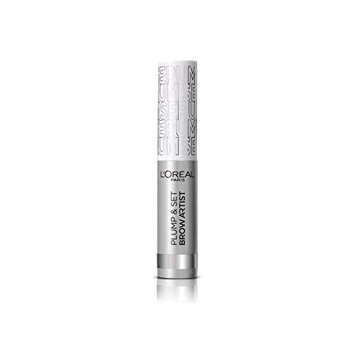 L'Oréal Paris Brow Artist Plump & Set 00 Transparent, transparentes Augenbrauen-Gel für definierte schöner aussehende Augenbrauen